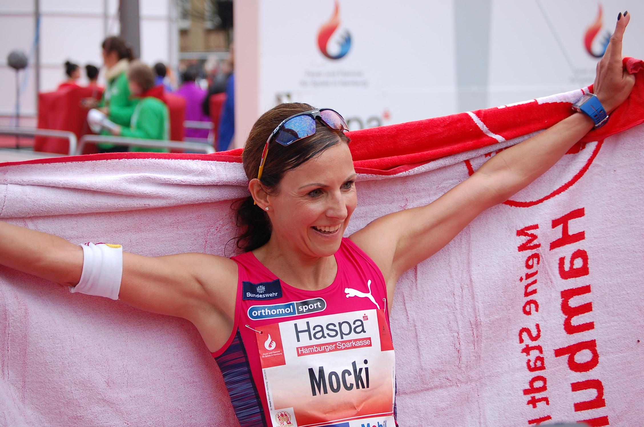 30. Haspa Marathon Hamburg: die erste Deutsche im Ziel